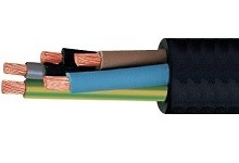Draad & kabel rubber kabel