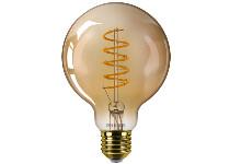 Verlichting Led lampen Philips LED-bulb E27 gold